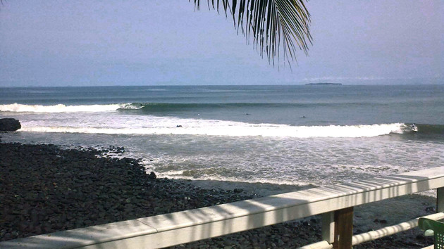 stand up wave panama surf school