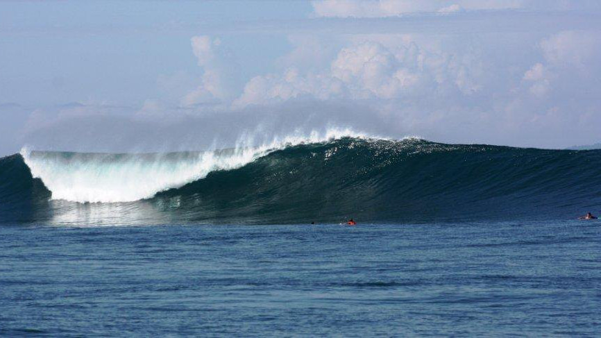 uncrowded surf