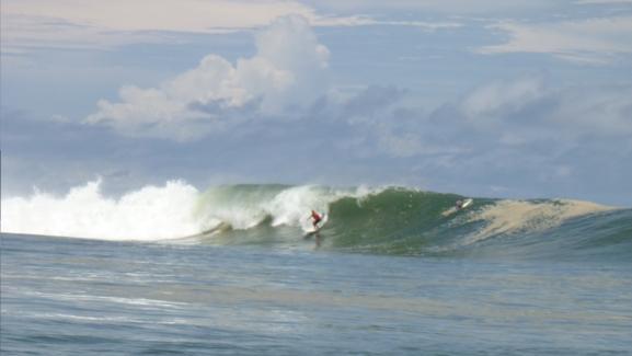 panama surf P-Land big wave