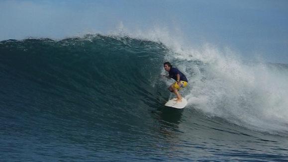 panama surf sandbar barrel