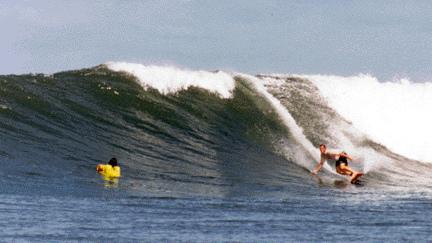 panama surf sandbar